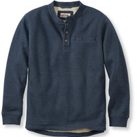 Katahdin Iron Works Bonded Waffle Fleece, Traditional Fit: Traditional Fit | Free Shipping at L.L.Bean