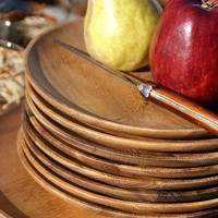 Acacia Round Plate - KITCHEN AND DINING - Serveware - Dishes