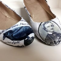 """Edgar Allen Poe """"The Raven"""" Poetry Flats - Made to Order"""