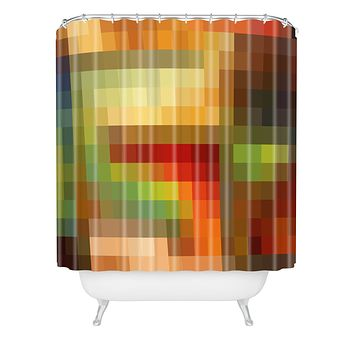 Madart Inc. Maze of Colors Shower Curtain