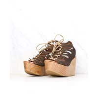 Musse & Cloud - Oneka Leather Lace Up Sandals