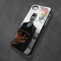 Panic at the disco Iphone 4/4s/5/5c/5s, Samsung Galaxy S2/S3/S4, iPod 4 (only black)