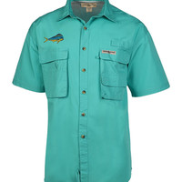 Men's Bull Dolphin Gulf Stream Fishing Shirt