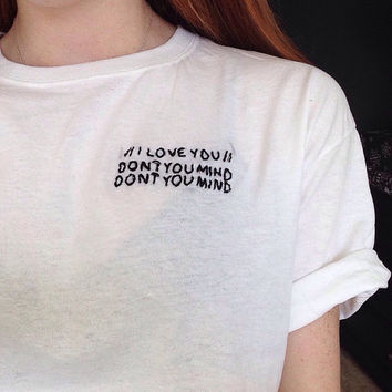 The 1975 'Me' Embroidered Tshirt