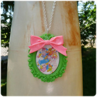 Popples Kawaii Necklace Kawaii fairy kei cute little girl toy 80s 1980s