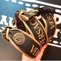 VERSACE Newest Popular Women Retro Bowknot Hair Band Head Hoop Headband