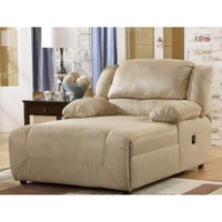 Hogan Press Back Chaise Khaki