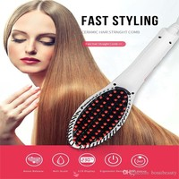 Anti Static Ceramic Heating Hair Brush