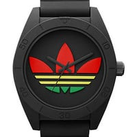 adidas Watch, Unisex Black Silicone Strap 50mm ADH2789 - All Watches - Jewelry & Watches - Macy's