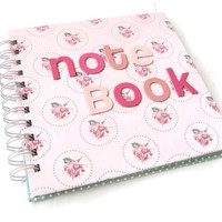 Stationary Pretty Pink Note book jottings ideas Journals gifts for girls