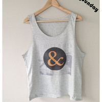 Of Mice & Men Band Metalcore Rock T-Shirt Singlet Vest Sleeveless Grey Color Unisex Man Woman S,M,L
