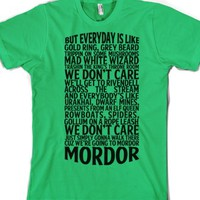 Grass T-Shirt   Funny Lord Of The Rings Parody Shirts