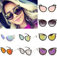 Quality eye cat  Sunglasses women Hollow out vintage eyewear sexy sun glasses for ladies = 1946055812