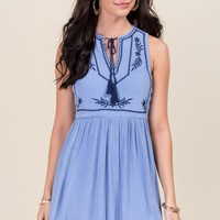 Camille Embroidered Dress