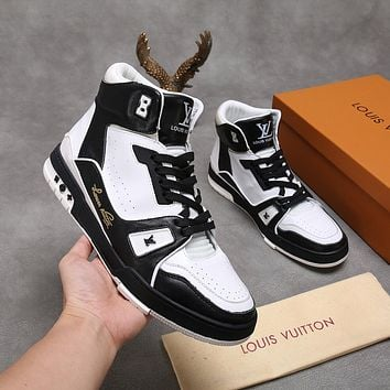 lv louis vuitton womans mens 2020 new fashion casual shoes sneaker sport running shoes 148