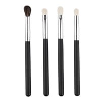 4 PCS Professional Makeup Brushes Set Powder Foundation Eyeshadow Cosmetics Brush Set