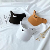NIKE Summer Fashion Women Men Embroidery Sports Sun Hat Baseball Cap Hat