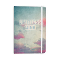"Ingrid Beddoes ""Limitless Mind"" Clouds Blue Everything Notebook"