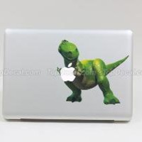 Cute Dinosaur Vinyl MacBook Skin Sticker Decal by topdecal