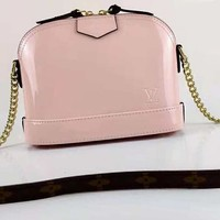 LV Newest High Quality Fashionable Women Shopping Leather Shoulder Bag Crossbody Satchel Pink