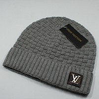 Louis Vuitton LV Fashion Edgy  Winter Beanies Knit Hat Cap