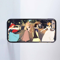 iPhone 7 7Plus - Funny Disney Princess Abbey Road Plastic Case Cover for Apple iPhone 6 6 Plus 4 4s 5 5s 5c
