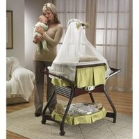 New Fisher Price Zen Collection Gliding Bassinet L7836 FREE SHIPPING