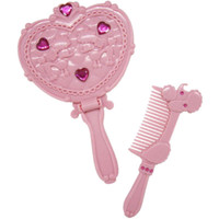 princess mirror and comb