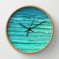 Sea of Indifference Wall Clock by pixel404