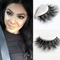 Free Shipping D008 1pcs lot 100% Real Siberian 3D Mink Full Strip False Eyelash Long Individual Eyelashes Mink Lashes Extension