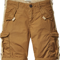 Scotch Shrunk by Scotch&Soda - Boys Khaki Cargo Shorts, Walnut