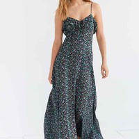 Kimchi Blue La Playa Button-Down Maxi Dress