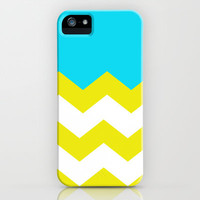 Bright Zig-Zag iPhone Case by All Is One