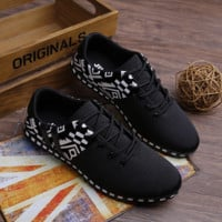 Unisex Ethnic Sports Running Shoes Sneakers