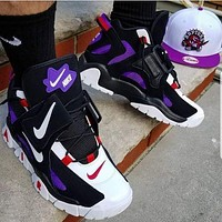 Nike Air Barrage Mid Hot Selling Platform Couple Sneakers Shoes