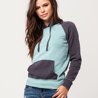 FULL TILT Essential Colorblocked Womens Hoodie | Sweatshirts + Hoodies