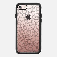 British Mosaic DIY Transparent iPhone 7 Case by Project M | Casetify
