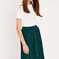 Urban Outfitters Suedette Skirt - Urban Outfitters