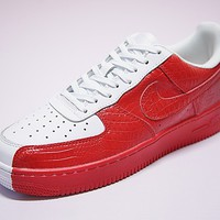 Nike Air Force 1 '07 Red/White Split 905345-005