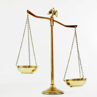 Vintage Gold Scale, Eagle Justice Scale, Brass Balance Scale, Gold Home Decor