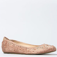 The Jolie Shoe in Dusty Rose and Rose Gold
