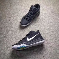 NIKE Kyrie 3 Black&White Men Basketball shoes