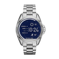 Michael Kors Access Unisex 45mm Silvertone Bradshaw Touchscreen Smart Watch
