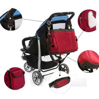 Diaper Bag Big Nappy Bags for Mommy Multifunctional Maternity Stroller Bag = 1945829252