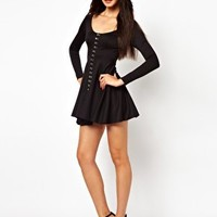 Oh My Love Dress with Hook and Eye Detail at asos.com