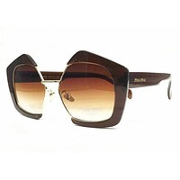 Miu Miu Women Fashion Summer Sun Shades Eyeglasses Glasses Sunglasses