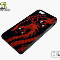 Fire And Blood Targaryen Game Of Thrones iPhone 5s Case Cover by Avallen