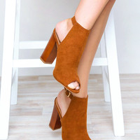 Back For Good Heels - Chestnut