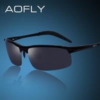 Men's Aluminum Magnesium Sun Glasses HD Polarized UV400 Sun Glasses oculos Male Eyewear Sunglasses For Men