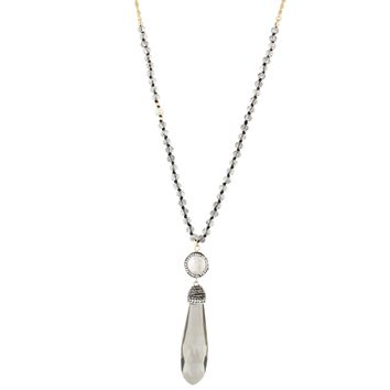 Haute Necklace- Crystal